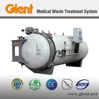 Medical waste treatment system/steam sterilization/autoclave system