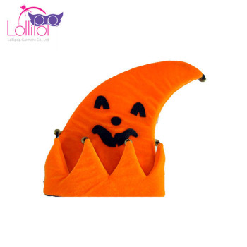 Cheap wholesale Halloween Party Hats Price Foam Pumpkin Peaked Cap