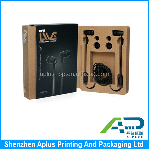 High end wooden earphone packaging box, wooden earphone box, wooden headset box