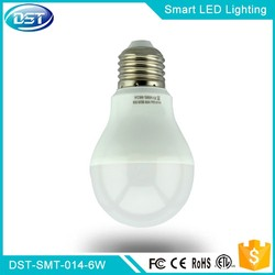 2.4G A60 6W LED RGB Bulb Wireless WiFi Apps &Remote Controller