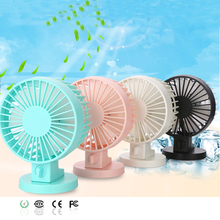 Computer front double leaf fan Creative new peculiar silent Desktop mini USB fan