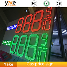 12 inches 4 DIGIT 7 SEGMENT LED GAS PRICE DIAPLAY SIGN BOARD FOR PETROL STATION
