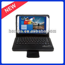 The Newest Detachable Bluetooth Keyboard with Leather Case for Samsung Galaxy Tab 3 8.0 T310