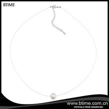 Latest Design Invisible Transparent Thin Chain Necklace for Mother's