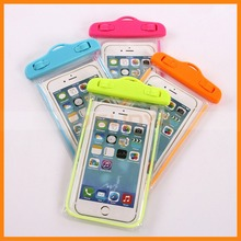Universal 4.5 to 6 inch Mobile Phone Noctilucent Waterproof Case For iPhone 6 Plus