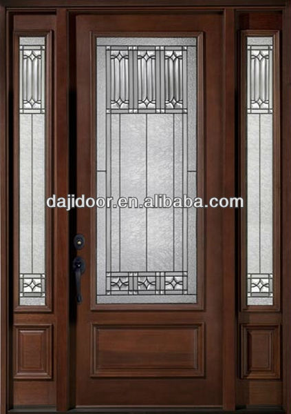 Half Lite Decorative Glass Front Doors From Lowes DJ-S9104MST