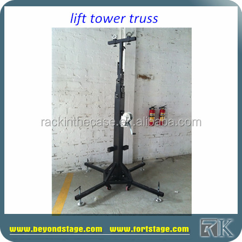 RK Telescopic Lifting Tower Stand/Speaker Truss Stands Lifts for sale