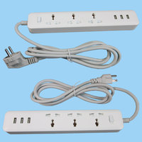 multi electrical power extension plug and socket ul multi outlet