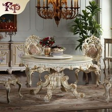 french provincial furniture -antique french round dining room table furniture