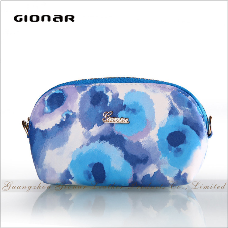 High Quality Fashion Latest Design Ladies Mini Floral Zipper Coin Purse