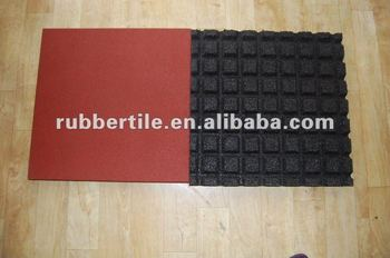 safety playground rubber flooring tile