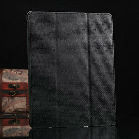 fashion leather cover for ipad 4