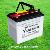 Hot Yuasan Latest 12V Lead Acid Dry Charged Batteries with Strong Glass Fiber Separators--N50Z(12V60AH)