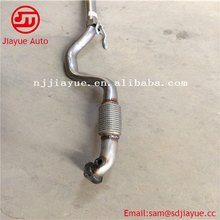 smooth polished stainless steel middle section muffler/409L stainless steel middle section muffler