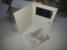2014 new hot sale lcd video greeting card,mp4 video player greeting card for promotion