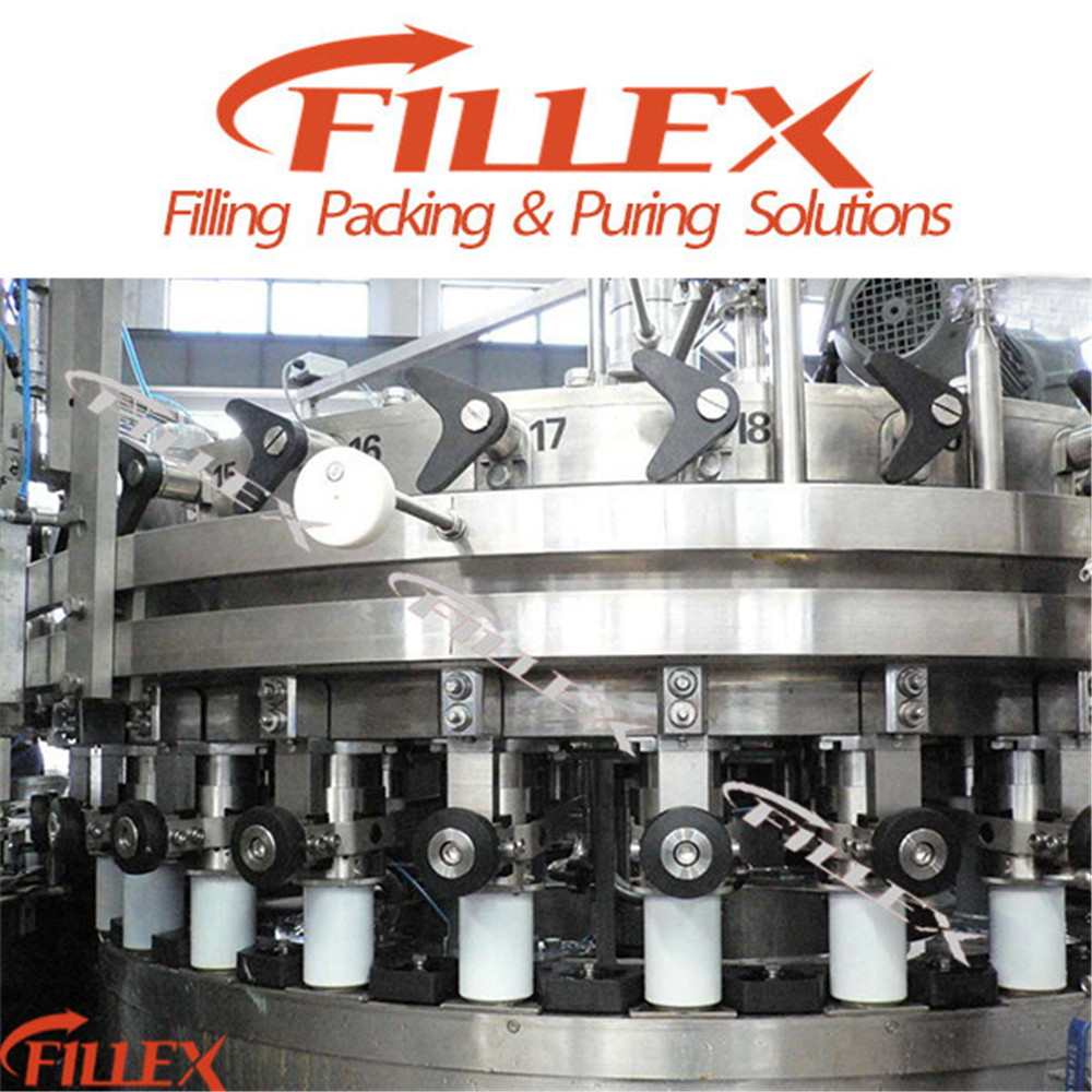 Can Filling Sealing Machine for Non Carbonated Soft Drink