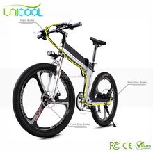 Li battery Taiwan electric mountain bike bycicle/electric bike for sale B1