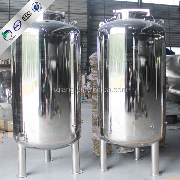 China 2000L stainless steel water storage tank for drink water/household