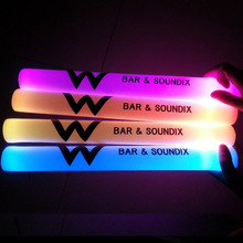 new promotion led foam flashing light stick with logo