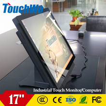 factory high quality 17 inch lcd touchscreen monitor with built in computer best price