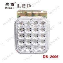 Semi truck tail light,fog light 12 volts led trailer lights, truck led tail lamp