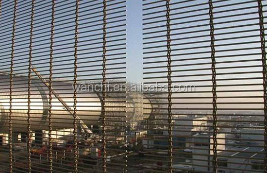 Cheap exterior architectural wire mesh for deco building/wall decoration mesh for sale