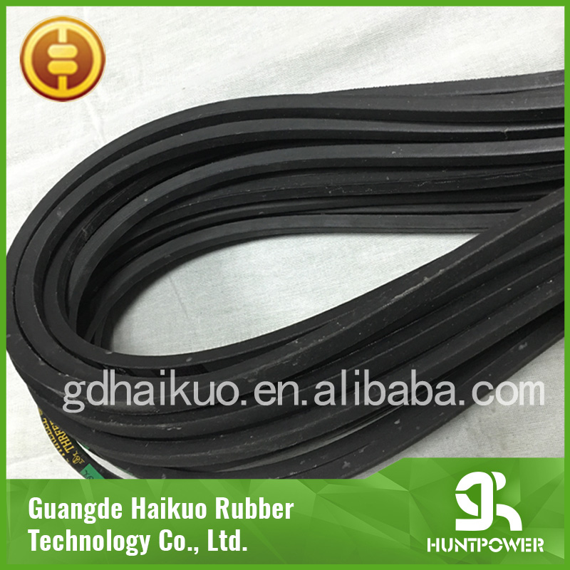 Good quality v belt/black vbelt/rubber v belt