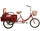3 wheel surrey rickshaw adult 3 wheel bike tricycle with rear cargo box