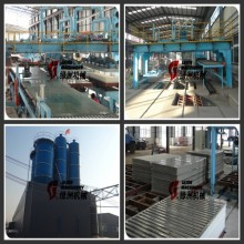 exterior and interior wall panels cement fiber board production line machine