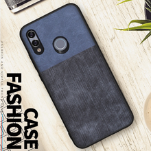 New arrival fabric cloth mobile phone case for huawei P smart 2019 case cover