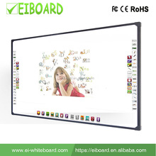 User friendly Write smoothly smart board, finger touch interactive white board