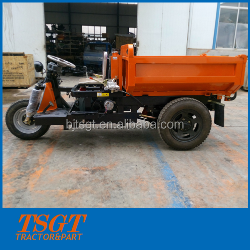 small diesel engine three wheels truck for mine camps use with big load capacity 2ton/3ton/4ton/5ton China factory supply