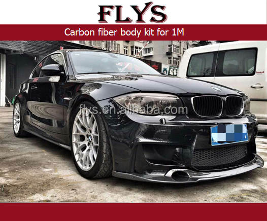 Carbon fiber body kit for 1M Carbon fiber front lip , rear diffuser , side skirts
