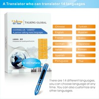 Oversea business companion translation reading pen in 14 languages, 14 different country pocket translater