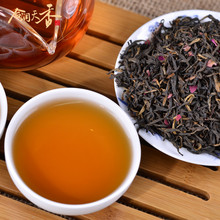 Chinese diabet products rose fermented black flavor tea