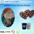 Hongye manufacture FDA food grade silicone rubber for food mold making