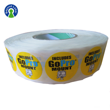 Premium Printing Roll Adhesive Electronic Components custom labels