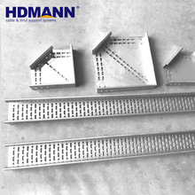 Perforated Aluminum 600mm Network Cable Tray Weight