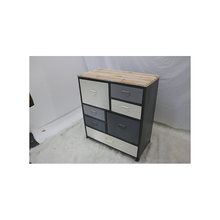 Recycled Retro Floor Standing Storage Rustic Wood Cabinet mdf home furniture