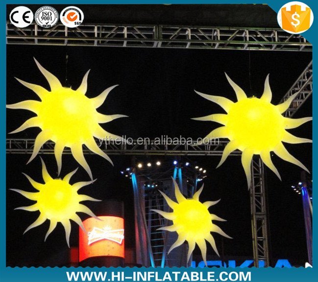 2015 party favours decoration inflatable sun planet