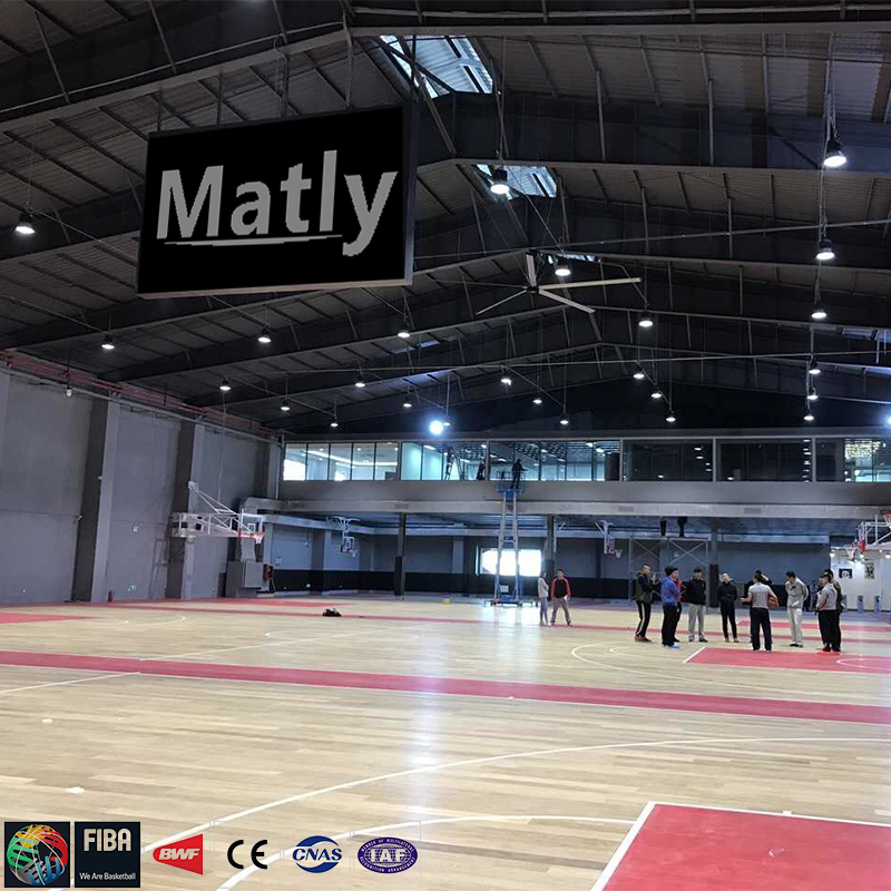 indoor sports wood flooring basketball court flooring