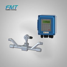 China Made pipeline ultrasonic portable flow meter with cheapest price