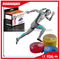 health & medical wholesale multi-color elastic cotton kinesiology tape dislocated shoulder