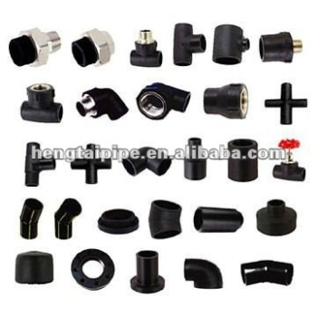 black poly pipe fittings manufacturer (dn20mm-dn1200mm)