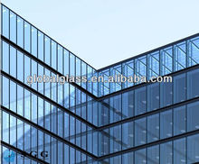 High Quality Reflective Glass Minimize Solar Heat