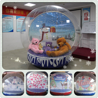 Christmas inflatable snow globe,giant inflatable snow globe, christmas inflatable snow globe bubble tent
