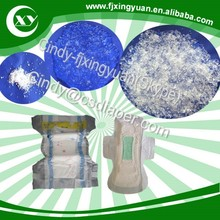 Super water absorbing material for manufacturing baby diaper