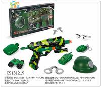 High quality cheap price safe military soft bullet hand gun toys set