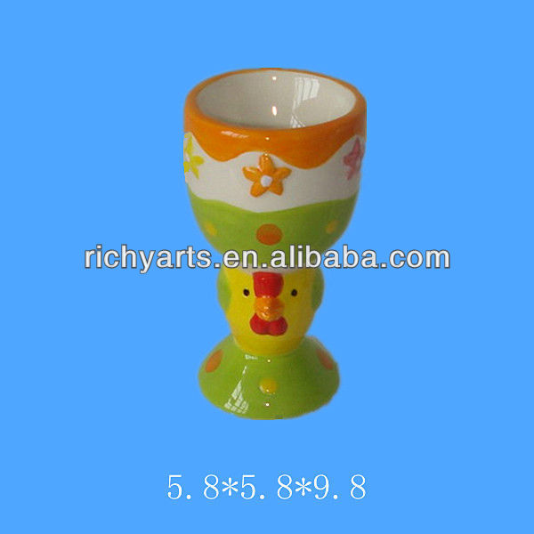 wholesale easter ceramic egg cups holder