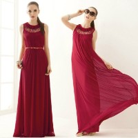 Summer party latest design Women Hollow Sleeveless Summer Maxi Party Cocktail Black Bridal Dress ZT-001189 boutique
